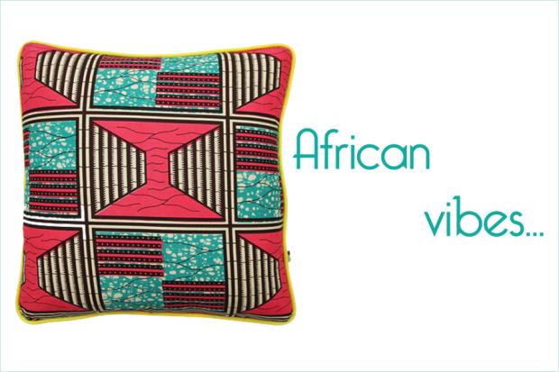 Charlesrayandcoco-coussins-diabolo-African vibes -Tcha-tcha-tcha