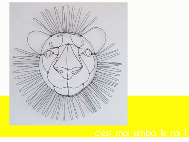Charles Ray and Coco - Emilie Bredel - lion