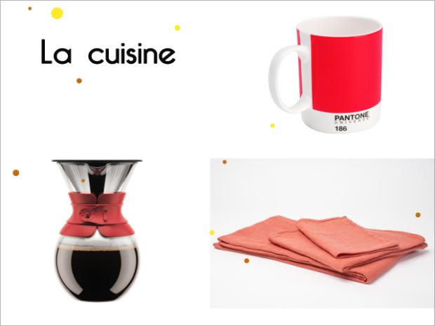 Charles Ray and coco - la cuisine - orange
