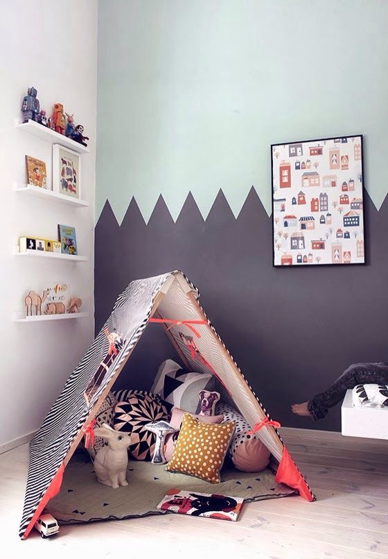 Charles Ray and Coco - Ferm Living bedroom kids