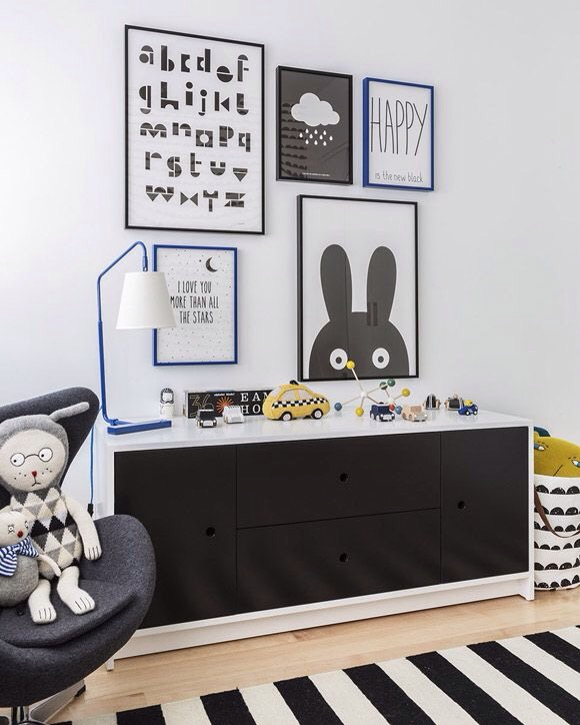 Charles Ray and Coco - Art bedroom kids