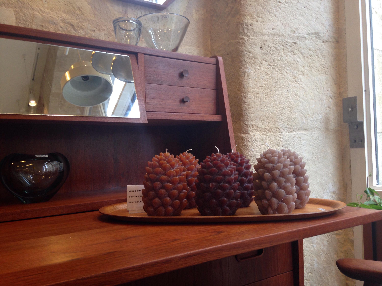 Maison Nordik - Bordeaux - bougies pommes de pain