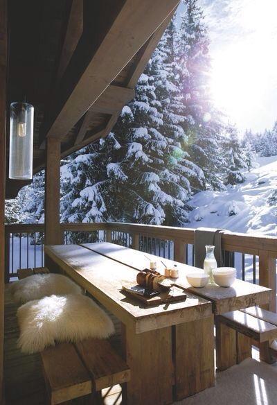 terrasse - cocooning