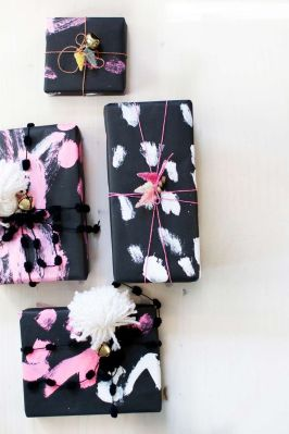 christmas gift black & girly