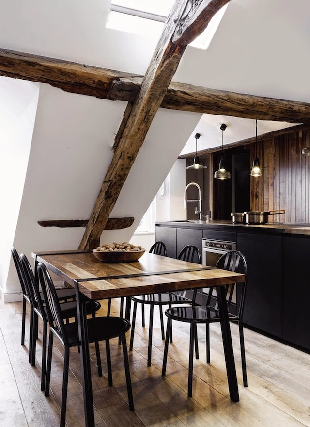 Margaux Beja appartement - cuisine salon