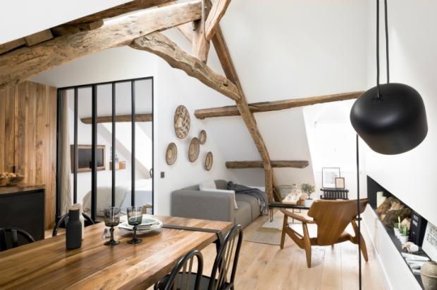 Margaux Beja appartement - salle à manger