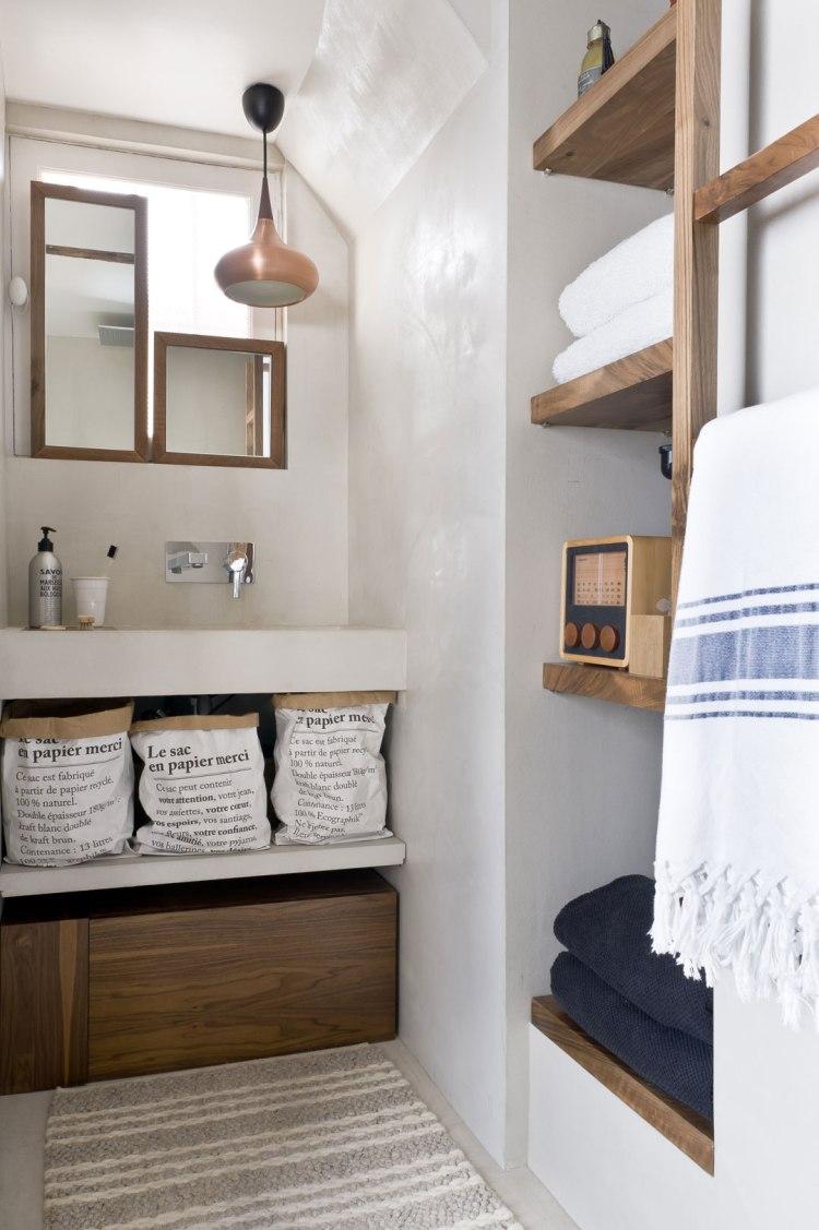 Margaux Beja appartement - salle de bain