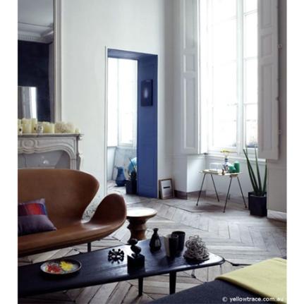 Charles Ray and Coco - Blog deco - Arne Jacobsen - sofa
