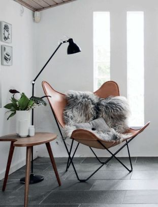 Charles Ray and Coco - Blog deco - Butterfly Armchair - Knoll