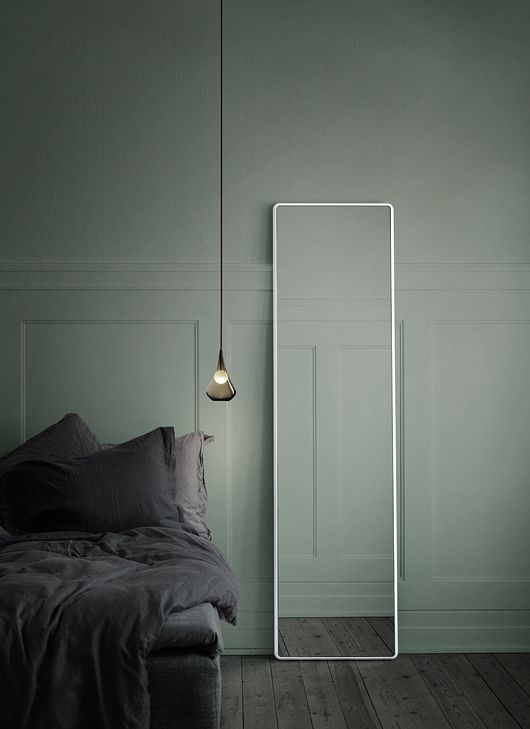 Charles Ray and Coco - Green touch - chambre kaki