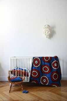 Charles Ray and Coco - blog deco et design - african wax - adeline affre