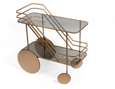 Charles Ray and Coco - Blog deco - Milan 2016 - Chariot Barcart