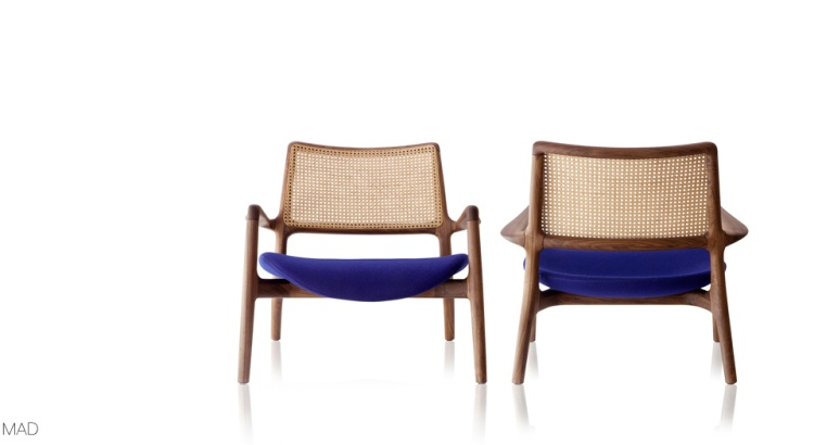 Charles Ray and Coco blog déco - bleu armchair - Jader Almeida