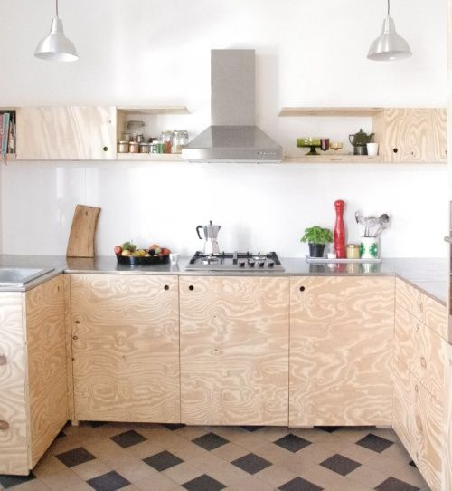 Charles Ray and Coco - blog deco et design - wood kitchen italian coffee