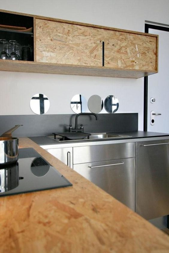 Top Wood and kitchen QW73
