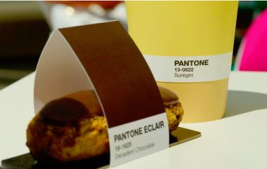 Charles Ray and Coco - blog decoration et design - bordeaux - Café Pantone - 13-0822 Sunlight