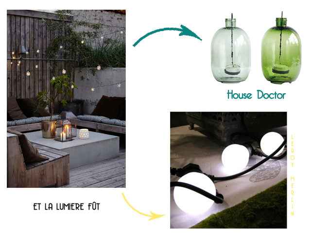 Charles Ray and Coco - blog décoration et design -bordeaux - selection shopping terrasse - lanterne - guirlande - la redoute interieurs