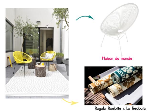 Charles Ray and Coco - blog décoration et design -bordeaux - selection shopping terrasse - lanterne - patio - la redoute interieurs