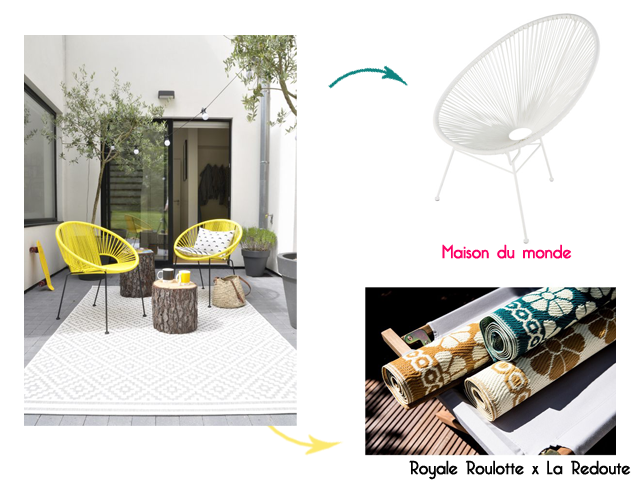 Charles Ray and Coco - blog décoration et design -bordeaux - selection shopping terrasse - lanterne - patio - la redoute interieurs