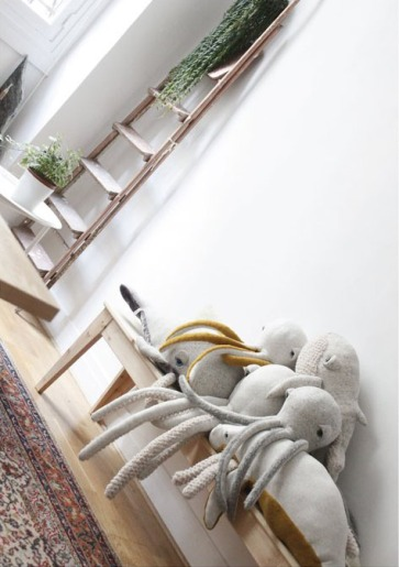 Charles Ray and Coco - blog decoration et design -peluche bigstuffed - lookbook