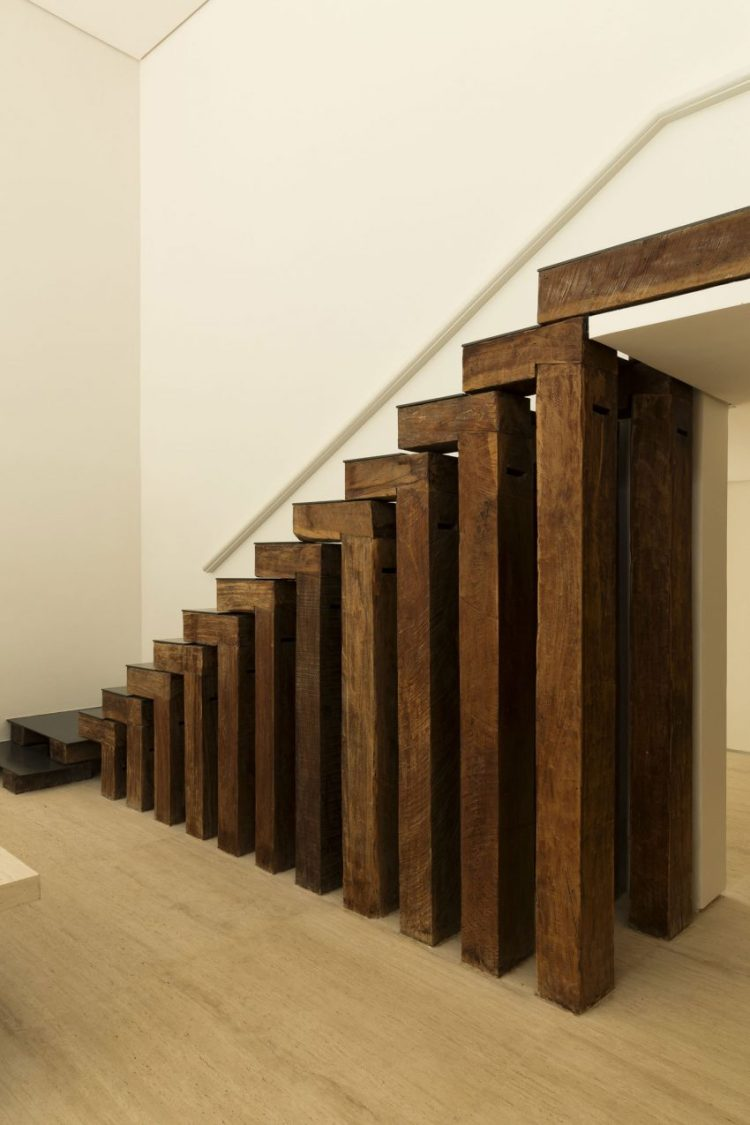 Charles Ray and Coco - visite - architecture - interior - Sao Paulo - brasil - DS-House- stairs