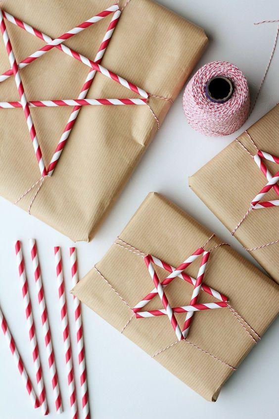 paquet-cadeaux-kraft-customise-etoile-noel-charlesrayandcoco-blog-decoration-design-bordeaux