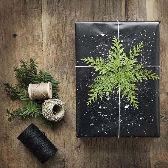 paquet-cadeaux-kraft-customise-sapin-noel-charlesrayandcoco-blog-decoration-design-bordeaux