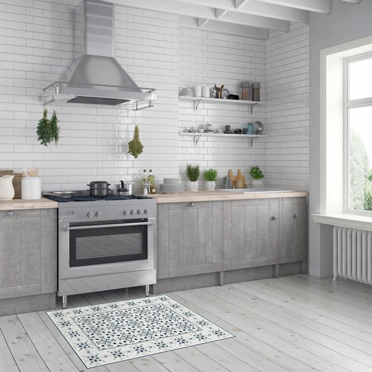 charles-ray-and-coco-blog-deco-et-design-actualite-de-la-decoration-et-du-design - bon plan - shopping - bazarchic - le vinyl c'est chic - tapis classic blanc gris