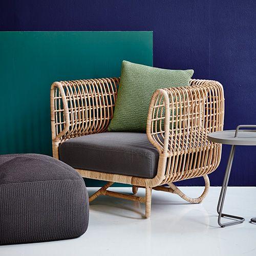 charles ray and coco - blog deco et design - actualite de la decoration et du design - tendance - rotin - fauteuil - cane line
