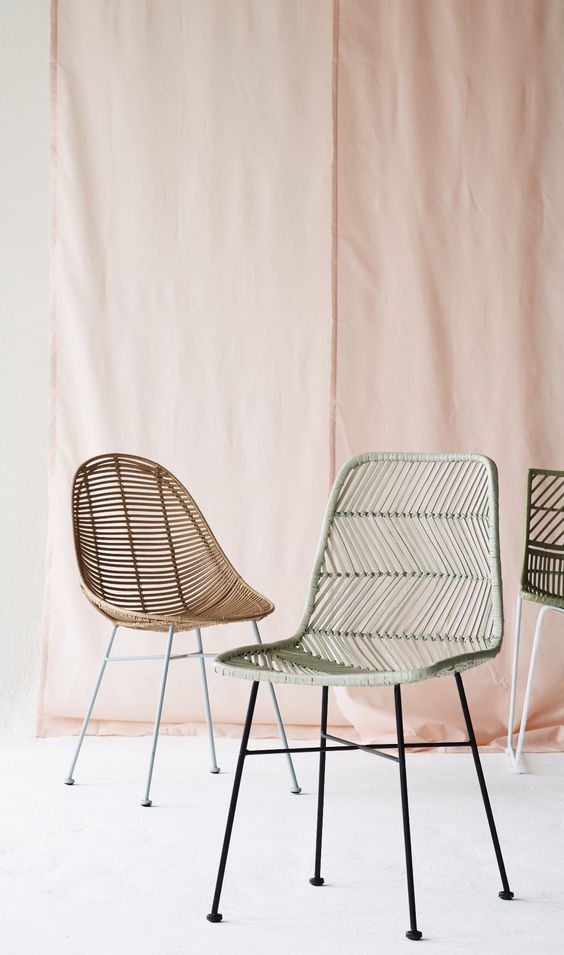 charles ray and coco - blog deco et design - actualite de la decoration et du design - tendance - rotin - chaise Olivier Bonas
