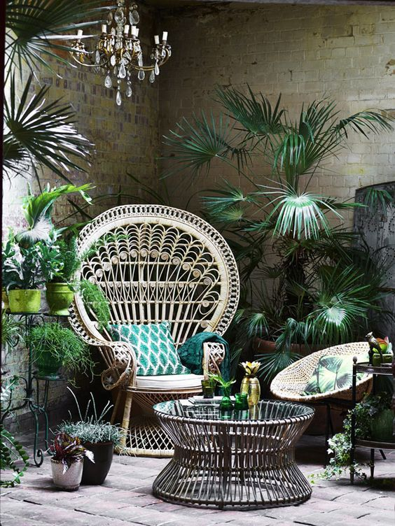 charles ray and coco - blog deco et design - actualite de la decoration et du design - tendance - rotin - fauteuil emmanuelle - outdoor