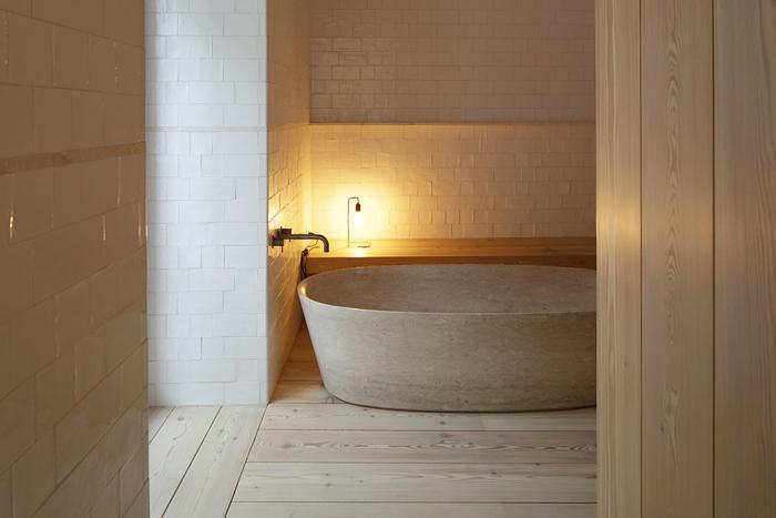 Santa Clara 1728 salle de bain - baignoire