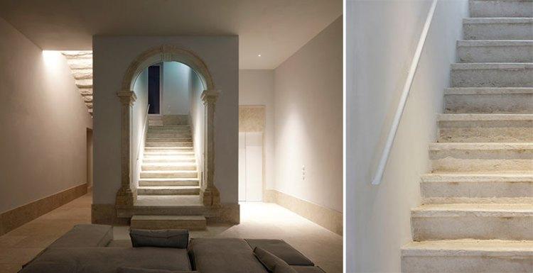 Santa Clara 1728 entrée - escalier
