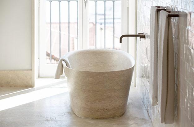 Santa Clara 1728 salle de bain - baignoire 2