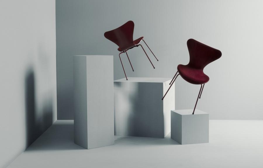 Arne Jacobsen chaise serie 7