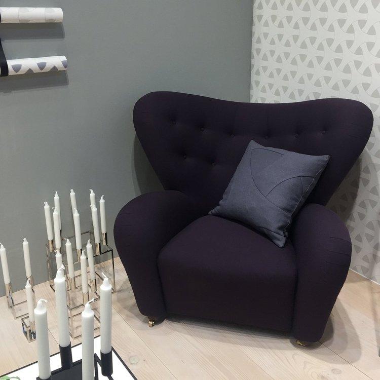 maison & objet 17 - fauteuil enveloppant