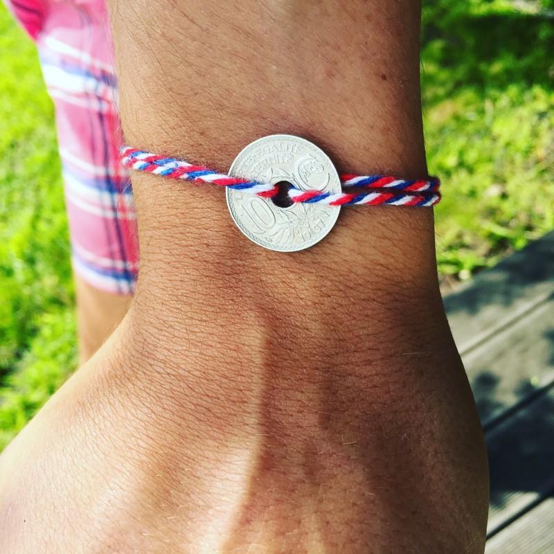 charlesrayandcoco- blog deco et design - selection noel - homme -Le sous francais - bracelet-le-patriotique