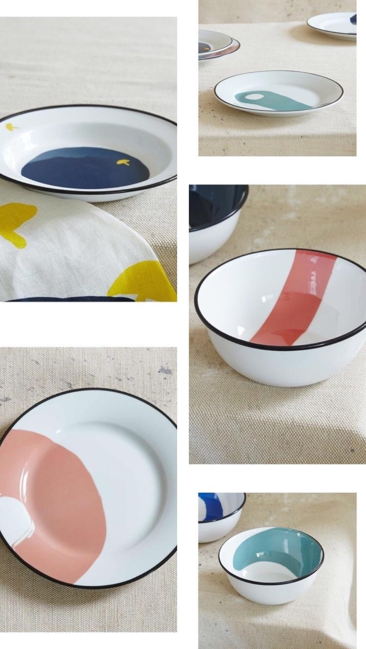 Collaboration Milk magazine pour Monoprix - vaisselle